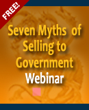 Seven Myths of Selling to Government Webinar